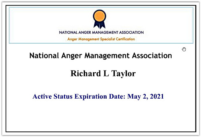 National Anger Management Association 2020